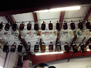 Part of the growler collection