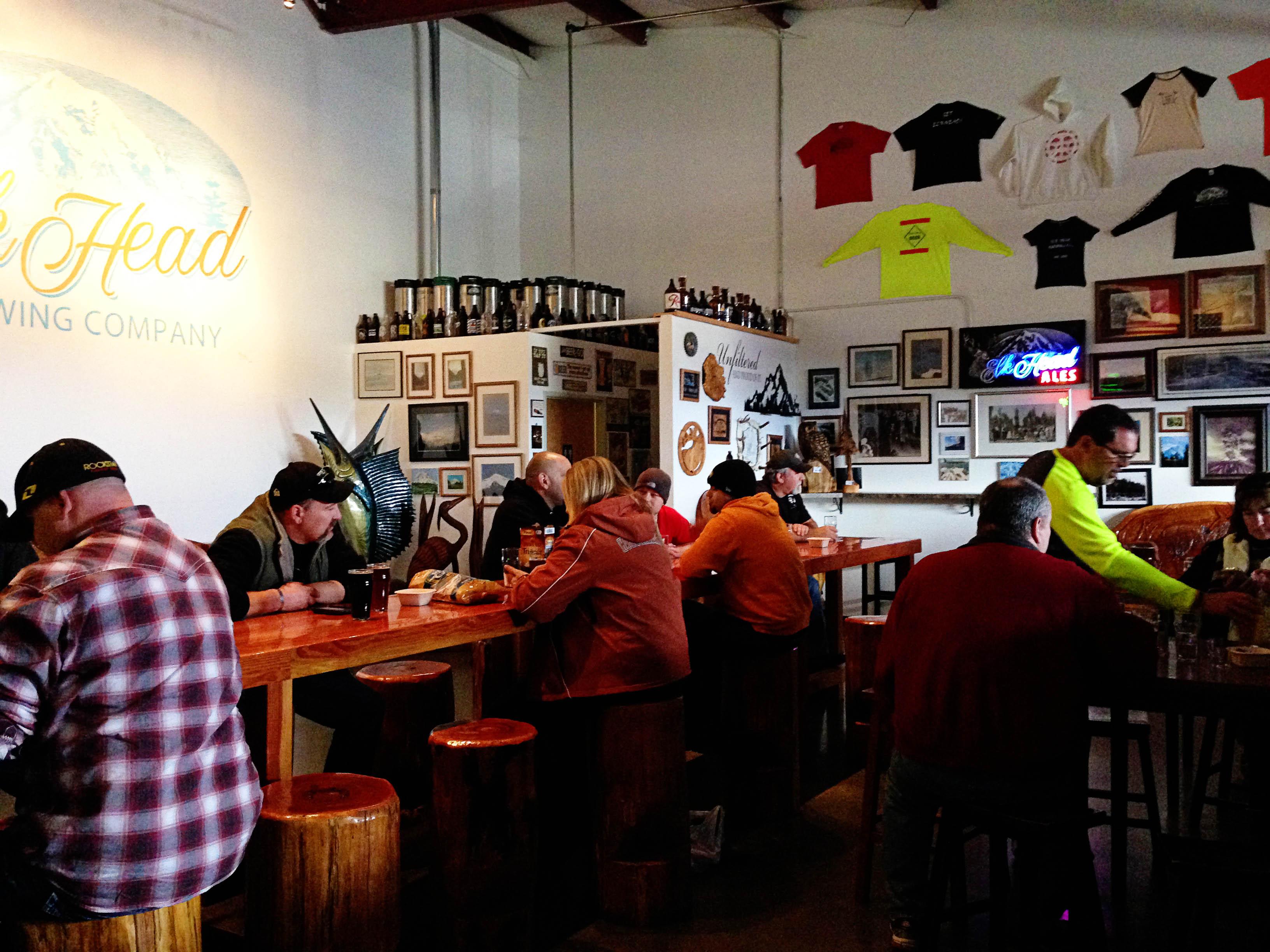 Elk Head Brewery Tasting room