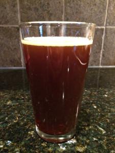 Rejewvenator glass belgian style dubble ale