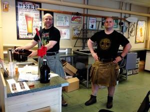 Gallaghers' Where-U-Brew John Hinkle and Jim Aldrich