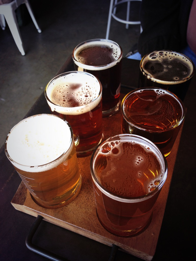 Stoup Brewing Beer Flight