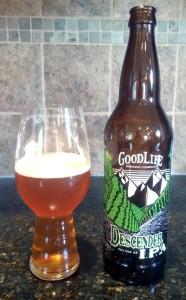 Goodlife Brewing Company Descender IPA