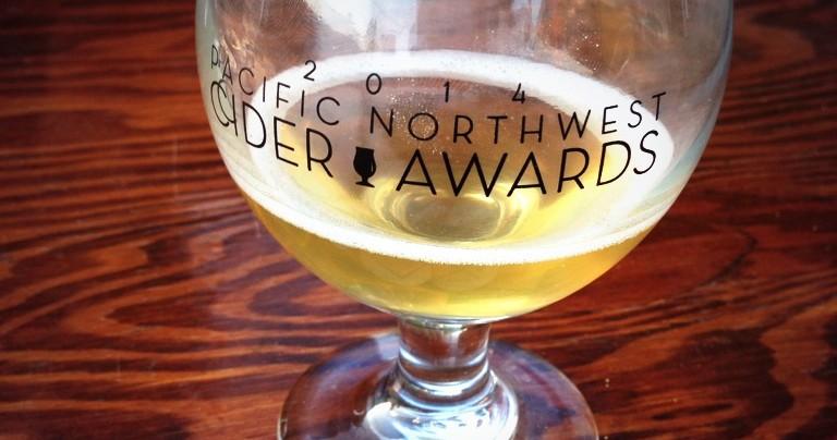 2014 Cider Awards label