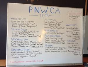 PNWCA 2014 Festival Winners