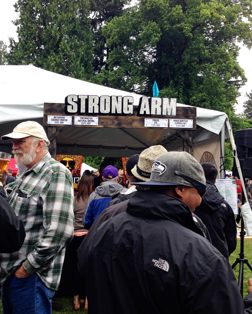 WABL Brewers Festival 2014 Strong Arm Brewing