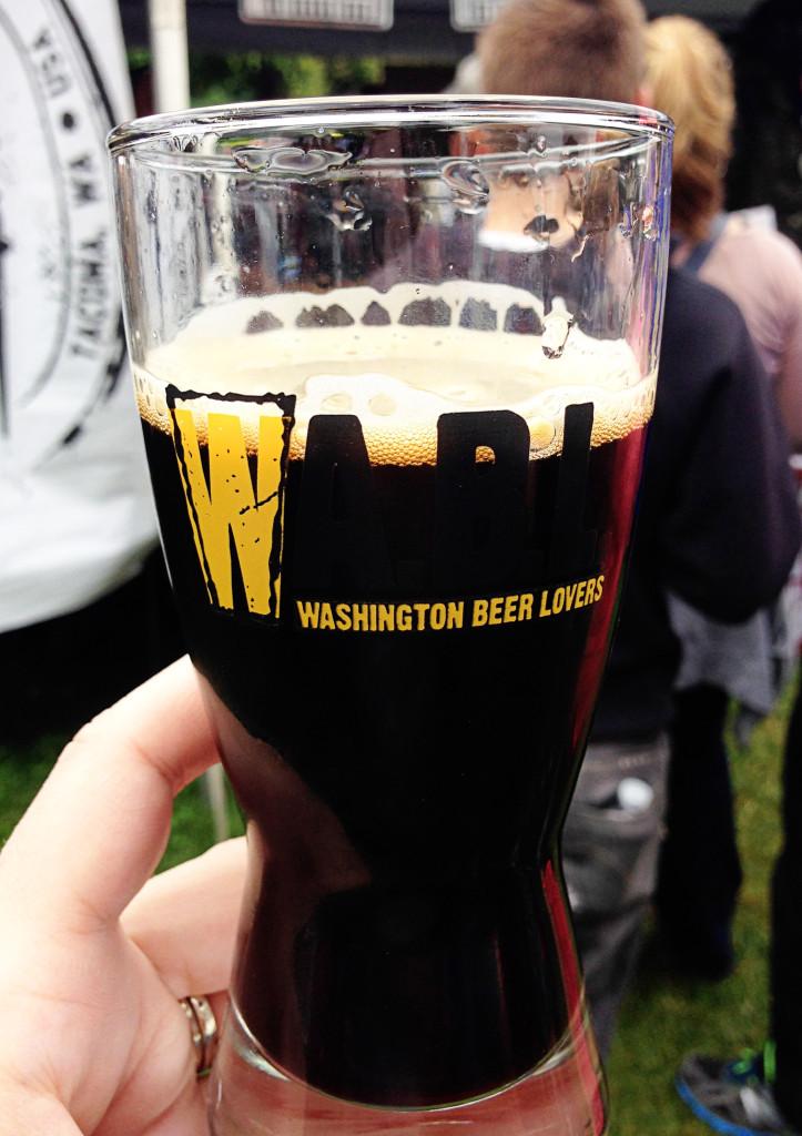 WABL Brewers Festival 2014 Wingman Brewery Peanut Butter Porter
