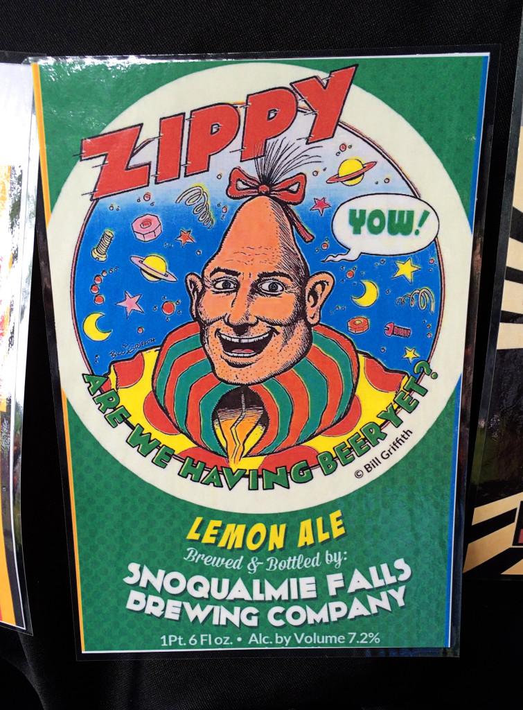 WABL Brewers Festival 2014 Snoqualmie Falls Zippy