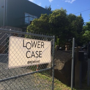 Lowercase Brewing Entrance