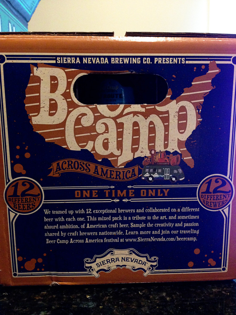 Beer Camp Collab box side