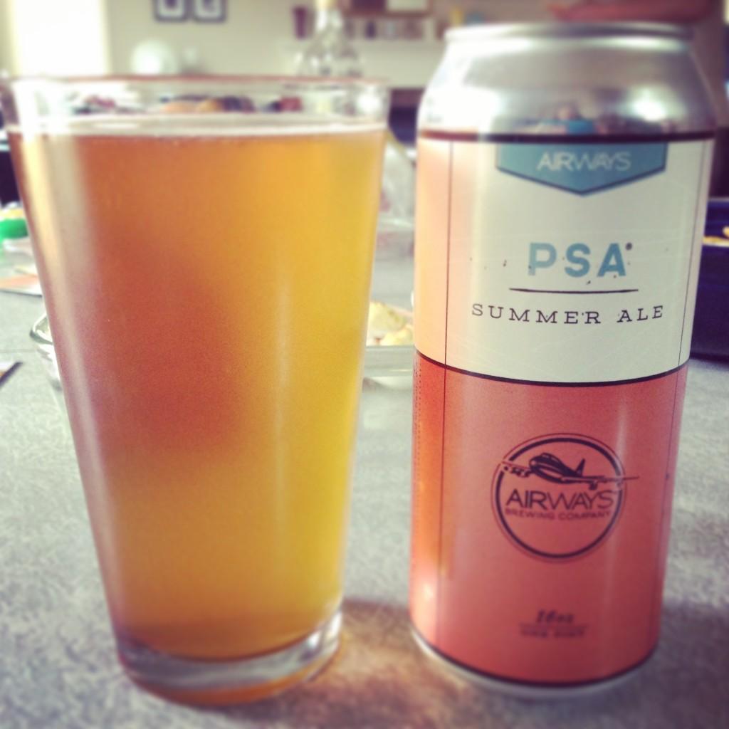 PSA Summer Ale - Airways Brewing