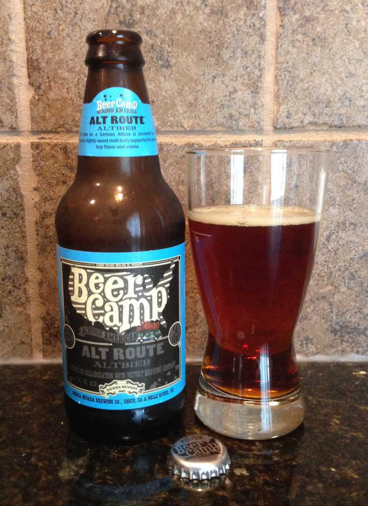 Alt Route altbier Sierra Nevada collab with Victory Brewing
