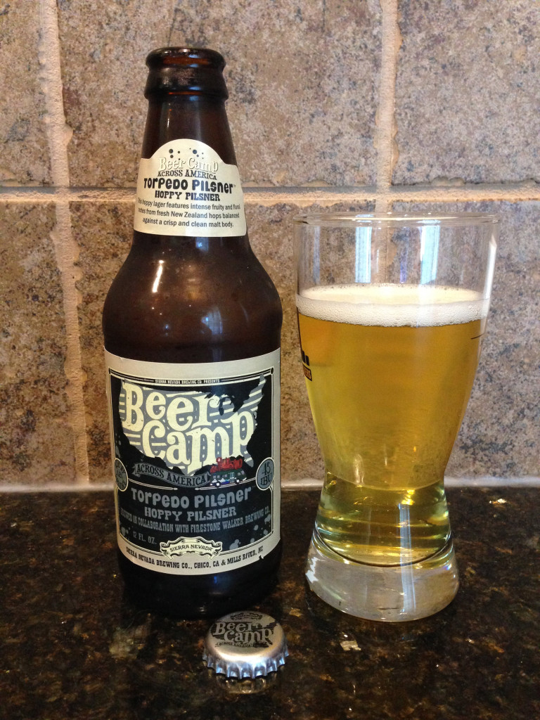 Torpedo Pilsner Firestone Walker Beer Camp Collaboration