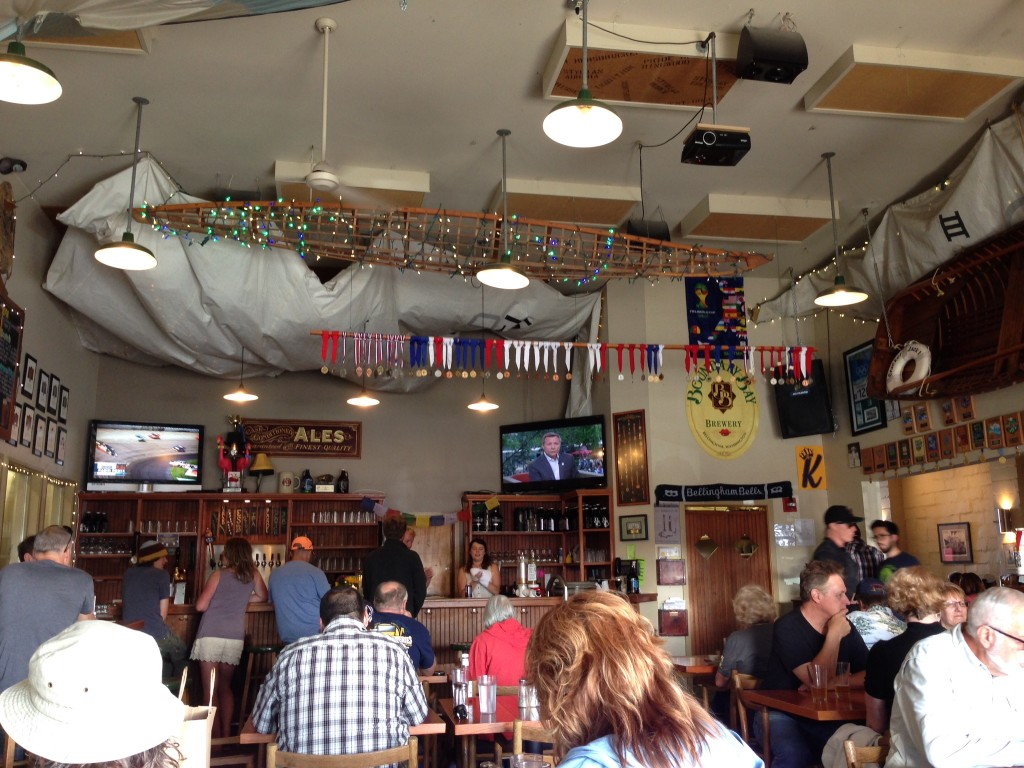 Boundary Bay Brewing's Taproom and Bistro